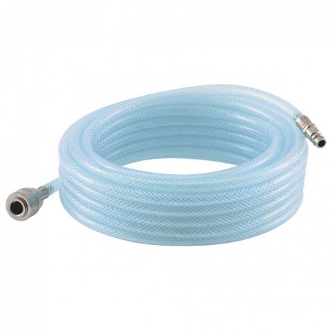 products/Шланг пневматический ПВХ, 10 x 16 мм, 18 бар, армированный, прозрачный, быстросъемное соединение, 30 м Stels, арт. 57027
