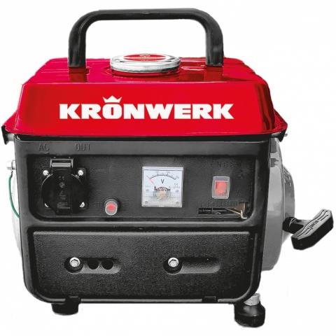 products/Генератор бензиновый LK-950, 0,8 кВт, 230 В, 2-х тактный двигатель, 4 л, ручной стартер Kronwerk, арт. 94667