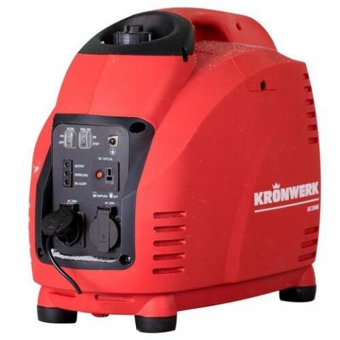products/Генератор инверторный LK 2500i, 2,5 кВт, 220В, бак 5,7 л, ручной старт, Kronwerk 94647