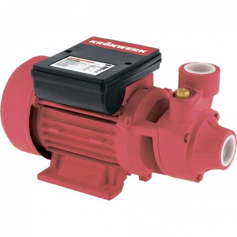 products/Садовый поверхностный насос KGP400E, 400 Вт, 2000 л/ч, подъем 25 м, чугун Kronwerk, арт. 97205