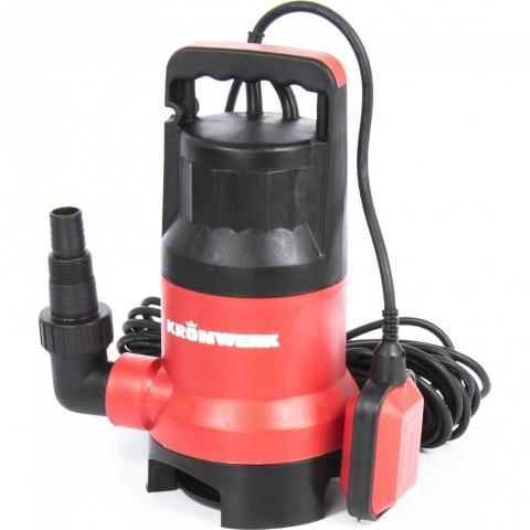 products/Дренажный насос для грязной воды KP450, 450 Вт, подъем 6,5 м, 8000 л/ч Kronwerk, арт. 97231