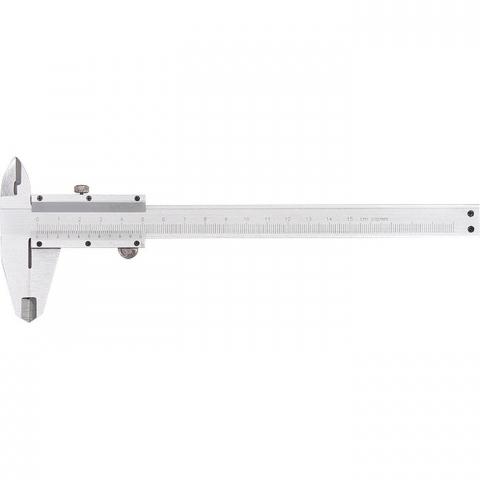 products/Штангенциркуль, 250 мм, цена деления 0,02 мм, металлический, с глубиномером Matrix, арт. 316335