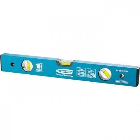 products/Уровень алюминиевый усиленный, 1800 мм, 3 глазка Gross, арт. 33638