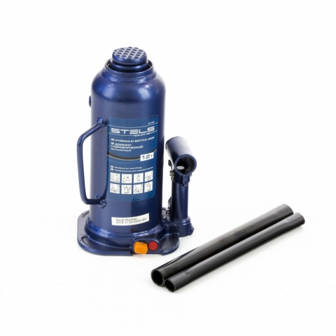products/Домкрат гидравлический бутылочный, 12 т, h подъема 227-457 мм Stels, арт. 51167