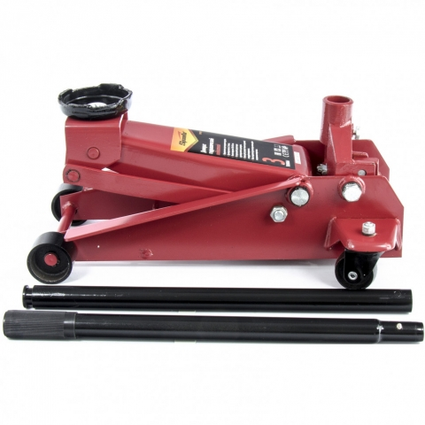 products/Домкрат гидравлический подкатный, 3 т, h подъема 130-465 мм Sparta, арт. 510105