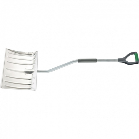 products/Лопата для уборки снега алюминиевая, 465 х 340 х 1300 мм, стальной черенок, Palisad, арт. 61573
