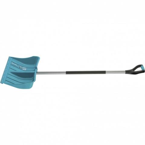 products/Лопата для уборки снега пластиковая Luxe, 540 х 375 х 1520 мм, стальной черенок, Palisad, арт. 615685