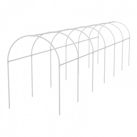 products/Каркас парника пластиковый 500 х 110 х 120 см, дуга D 20 мм, белый Palisad, арт. 63902