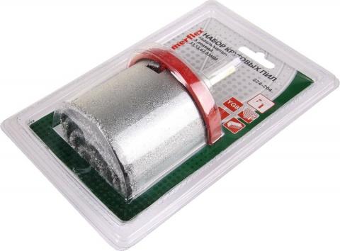 products/Набор коронок Hammer Flex 224-204 DR CR 65 кафель\кирпич, 4 шт.: 33,53,67,83 мм+адаптер (62231)