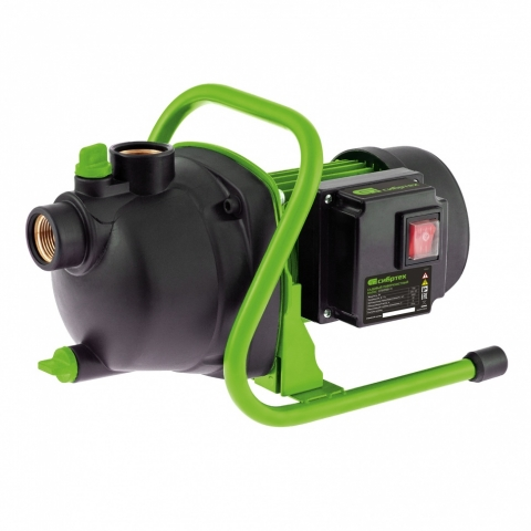 products/Садовый поверхностный насос СПН650-П, 650 Вт, напор 37 м, 3200 л/ч, пластик// Сибртех, 97244