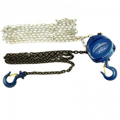 products/Таль цепная, 1 т, h подъема 2,5 м, расстояние между крюками 350 мм// Stels, 51944