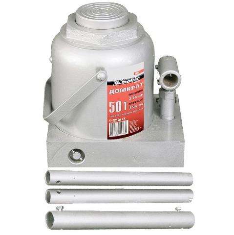 products/Домкрат гидравлический бутылочный, 50 т, h подъема 236–356 мм// Matrix, 50737