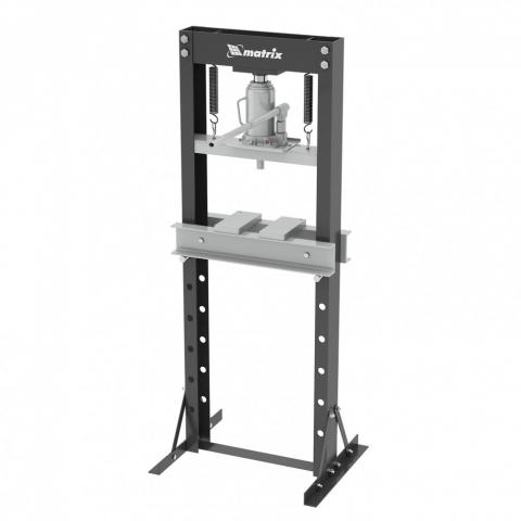 products/Пресс гидравлический, 20 т,640 х 540х 1500 мм (комплект из 2 частей)// Matrix, 523205