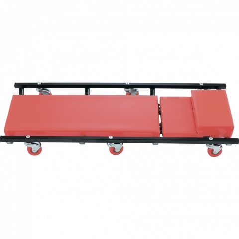 products/Лежак ремонтный на 6-ти колесах, 1030 х 440 х 120 мм, поднимающийся подголовник// Matrix, 567455