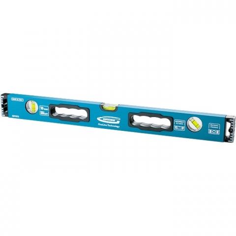products/Уровень алюминиевый, 2000 мм, усиленный с ударопрочными заглушками, рукоятки, 3 глазка// Gross, 34340