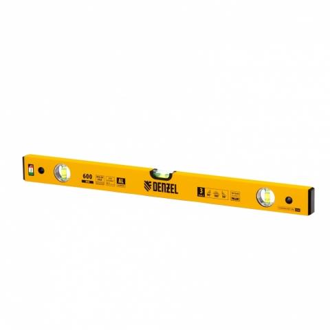 products/Уровень алюминиевый, 600 мм, фрезерованный, 3 глазка Denzel 33681