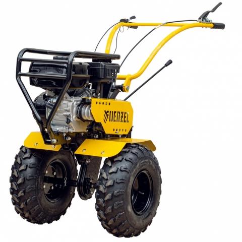 products/Мотоблок DPT-370-PRO, 7 л.с, ременное сцепление, ширина 90 см, глубина 35 см, фрез 3 х 4, ШОМ, передачи 4В/2Н Denzel 56404