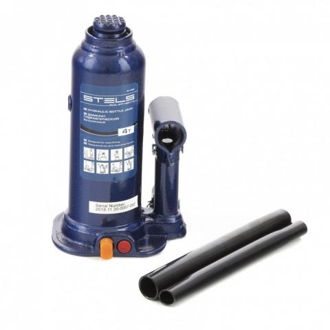 products/Домкрат гидравлический бутылочный, 4 т, h подъема 188-363 мм Stels, 51162