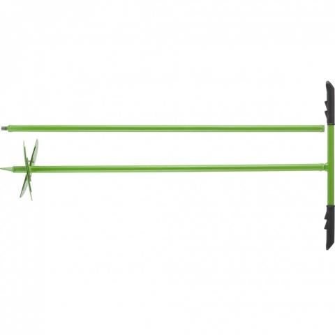 products/Бур лопастной со сменными ножами, 2110 мм, удлинитель, диаметр 150 мм, 200 мм, Сибртех, арт. 64399