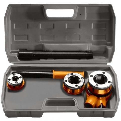 products/Набор клуппов 1/2-3/4-1, плашкодержатель с трещоткой, 6 предметов Sparta, арт. 773335