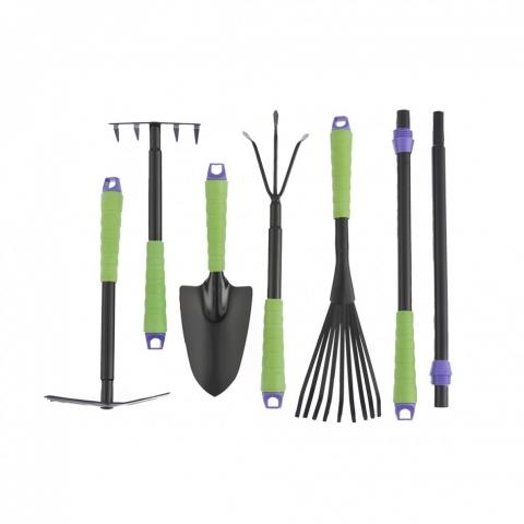 products/Набор садового инструмента, пластиковые рукоятки, 7 предметов, Connect, Palisad, арт. 63020