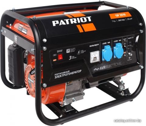 products/Генератор бензиновый PATRIOT GP 3510, 474101535