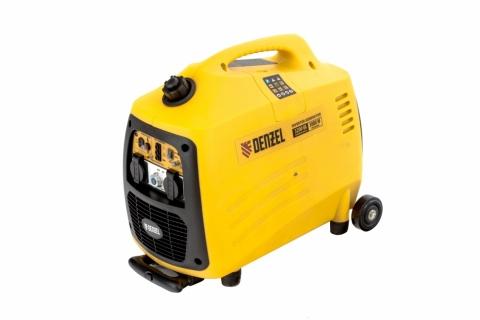 products/Генератор инверторный GT-3200iSE, 3,2 кВт, 230 В, бак 6 л, закрытый корпус, электростартер// Denzel, 94703