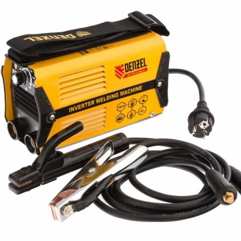 products/Аппарат инвертор. дуговой сварки DS-180 Compact, 180 А, ПВ 70%, диам.эл. 1,6-4 мм// Denzel, 94372