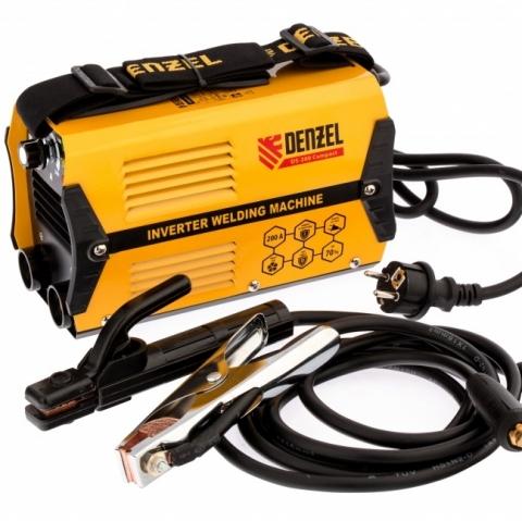 products/Аппарат инвертор. дуговой сварки DS-200 Compact, 200 А, ПВ 70%, диам.эл. 1,6-5 мм// Denzel, 94373