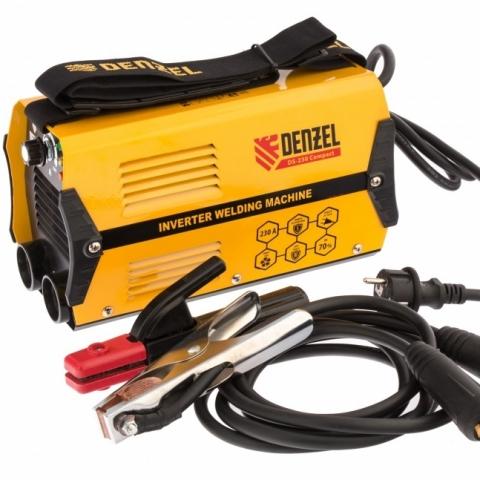 products/Аппарат инвертор. дуговой сварки DS-230 Compact, 230 А, ПВ 70%, диам.эл. 1,6-5 мм// Denzel, 94374