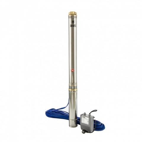 """products/Скважинный насос DWC-4-140, центробежный, диаметр 4"""", 2200 Вт, 6000 л/ч, напор 140 м// Denzel, 97258"""