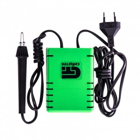 """products/Электроприбор для выжигания по дереву """"Ажур"""" с подставкой, 2 проекции в комплекте Сибртех, арт. 91305"""