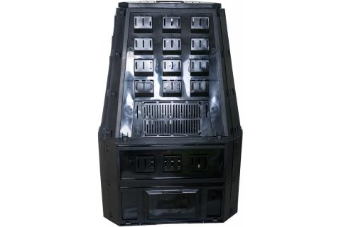 products/Компостер Prosperplast Evogreen 850 л чёрный IKEV850C-S411