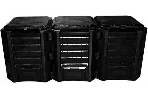 products/ Компостер Prosperplast Module 1200 л чёрный IKSM1200C-S411