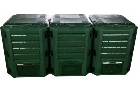 products/Компостер Prosperplast Module 1200 л зеленый IKSM1200Z-G851