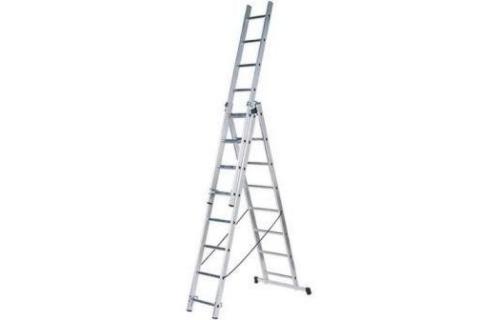 products/Алюминиевая трёхсекционная лестница Вихрь ЛА 3х7 73/5/1/20