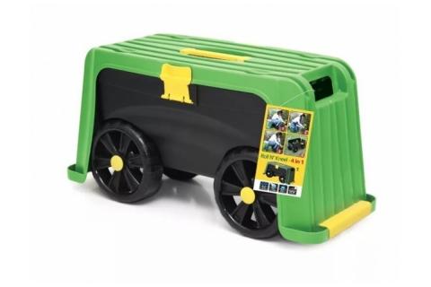 products/Ящик-подставка HELEX на колесах, 4в1, зеленый/черный H835