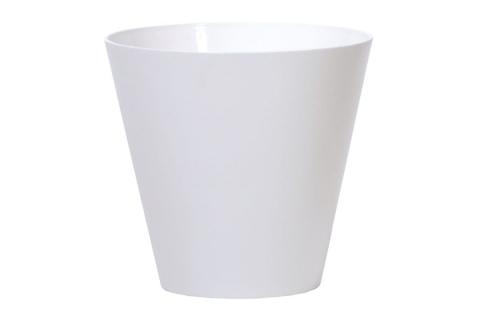 products/Кашпо для цветов Prosperplast Tubus белое, 12 л DTUB300-S449