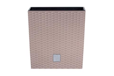 products/Кашпо для цветов Prosperplast RATO LOW мокка 2 предмета 37 и 64л DRTS400L-7529U