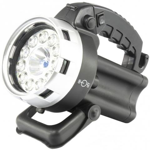 products/Фонарь поисковый, аккумуляторный, галоген 25 Вт, 11 LED// Stern 90532