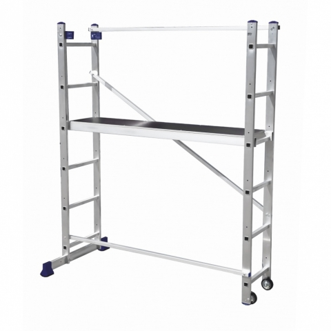 products/Алюминиевая лестница-помост 3 В 1 Сибртех// Россия 97970