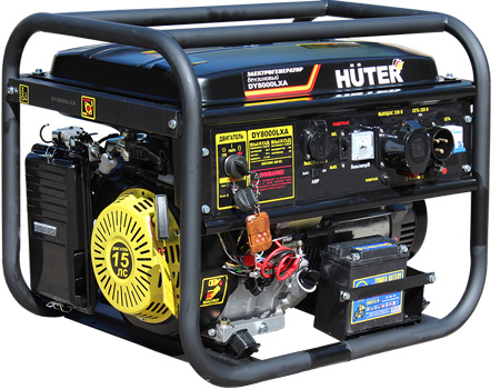 products/Электрогенератор DY8000LXA (с АВР) Huter, 64/1/30