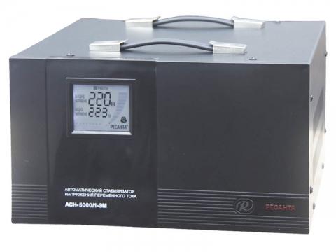 products/Стабилизатор АСН-5000/1-ЭМ Ресанта, арт. 63/1/6