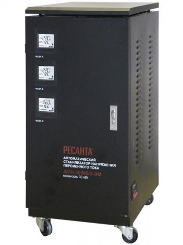 products/Стабилизатор трехфазный АСН-30000/3 Ресанта