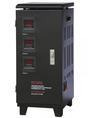 products/Стабилизатор трехфазный АСН-9000/3 Ресанта