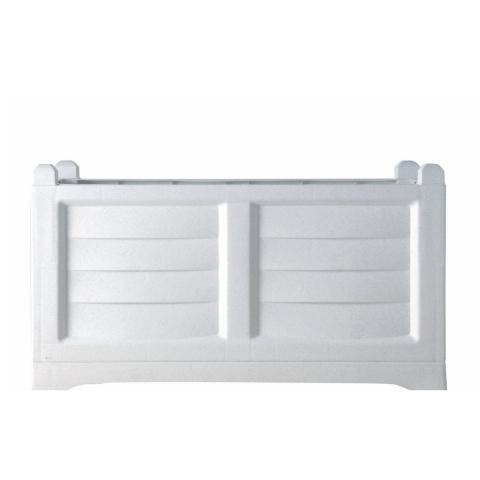 products/Ящик для цветов Bama Arredo 120 л, белый 31965