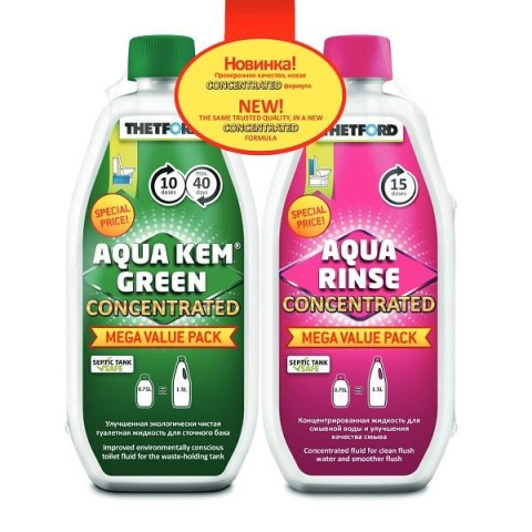 products/Набор Thetford 2 концентрированных жидкостей Duopack AKGC/ARC (6х2х0,75) 30666BB