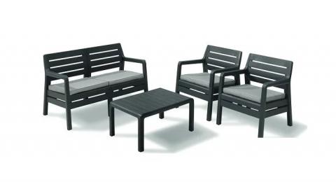 products/Набор мебели Keter DELANO SET ГРАФИТ 17201088G