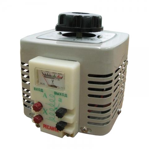 products/Автотрансформатор (ЛАТР) TDGC2-0,5K 0,5kVA Ресанта, 63/5/9