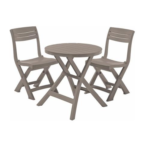 products/Набор балконной мебели Keter Jazz set cappuccino 17204593